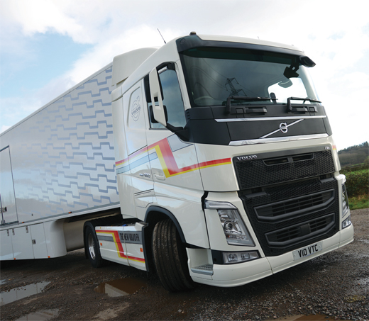 Driven volvo fh 460 euro 6 trucking for Hayes motor company trucks