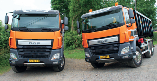 DAF's Construction range will go head to head with the likes of the Volvo FMX and Mercedes-Benz Arocs