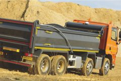 DAF's Euro 6 CF400 8×4 construction tipper chassis