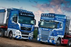 Scania R560 vs MAN TGX 540