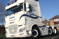 DAF out of hull