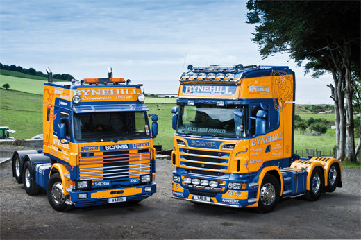 TRUCK ON TRIAL: SCANIA R730 Vs SCANIA 143 | Trucking
