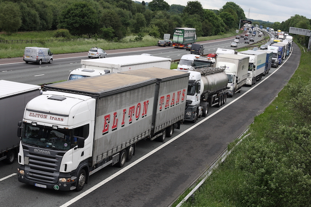 Hauliers hit by French ban on UK freight
