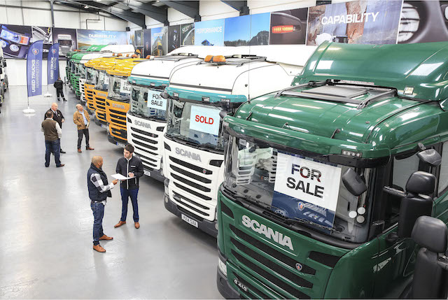 Europe's first indoor Used Truck Sales Centre opens its doors