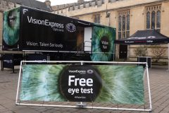 Vision Van offers free eye tests for drivers