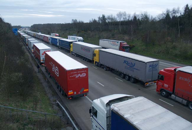 Contraflow plans announced to ease Operation Stack
