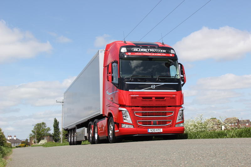Road Test: Volvo FH13-540 (rear-steer tag axle)