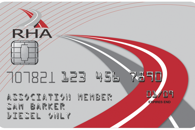 RHA Fuel Card – Challenge us to save you money!