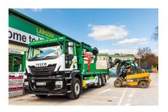 First UK builders' merchant to field gas-powered truck