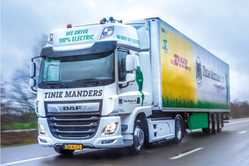 DAF presses on with CF Electric trials