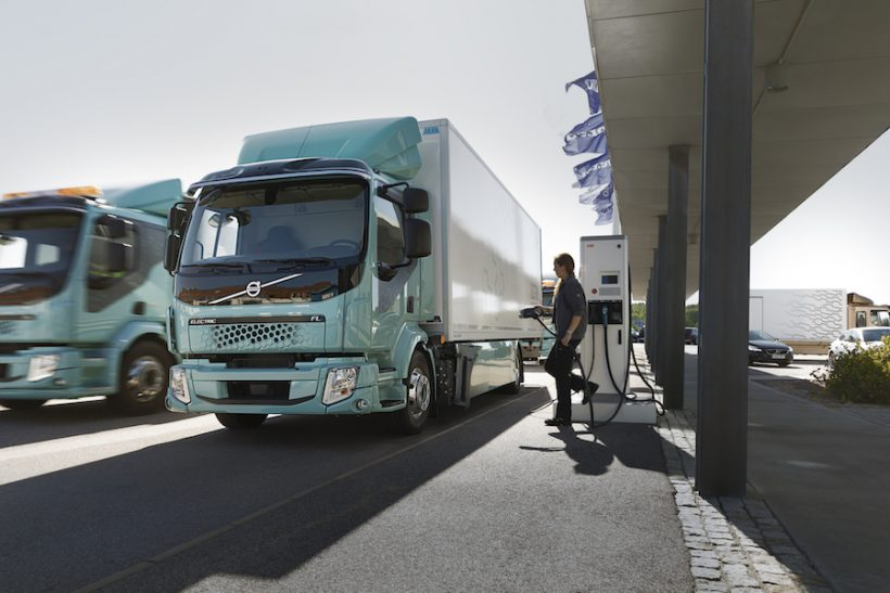 Volvo partners with Samsung for e-truck battery tech
