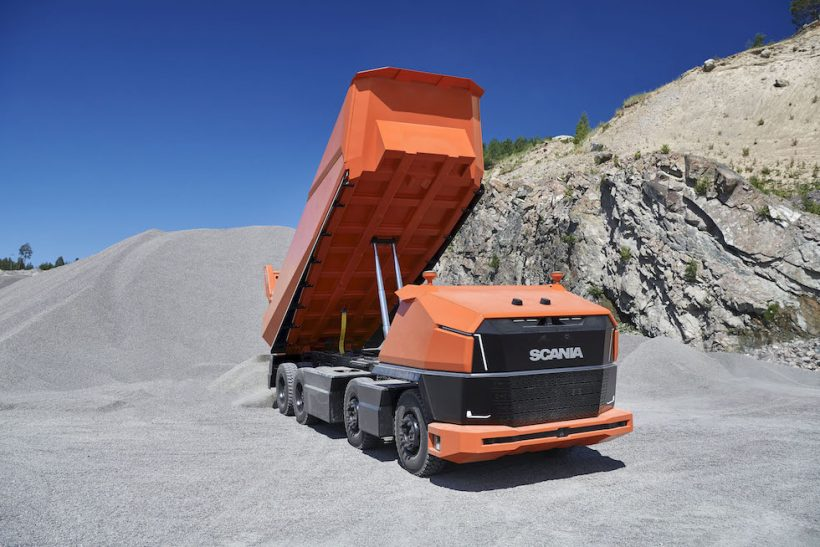 AXL is Scania's new cabless concept truck