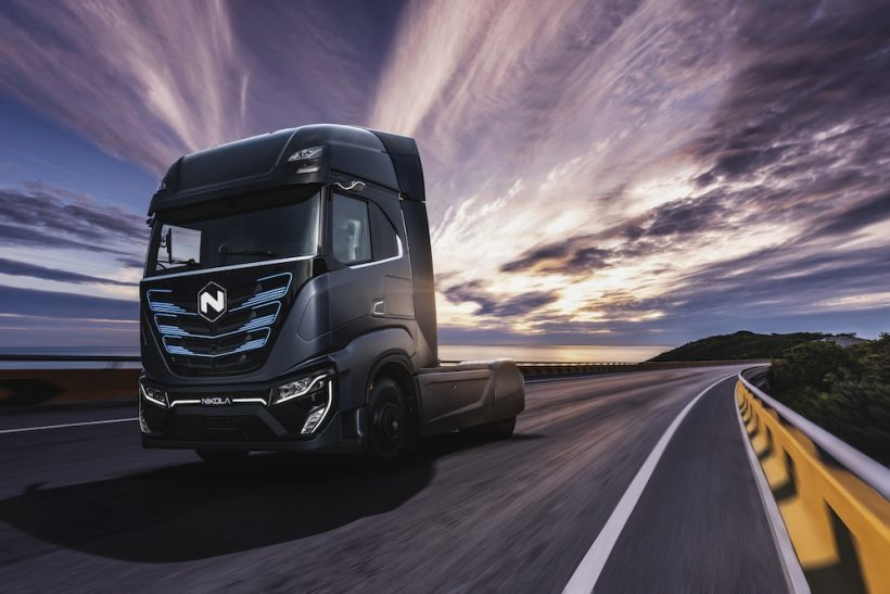 Nikola partners with Iveco for TRE zero-emissions truck