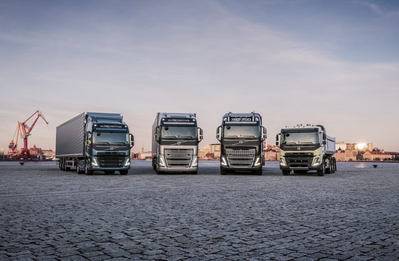 VOLVO LAUNCHES NEW TRUCK RANGE