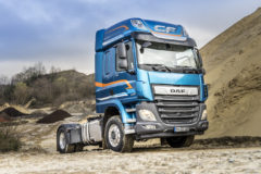 DAF readies switchable front-wheel drive for CF & XF