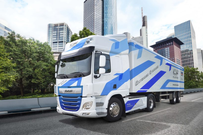 More electric trucks set for the UK