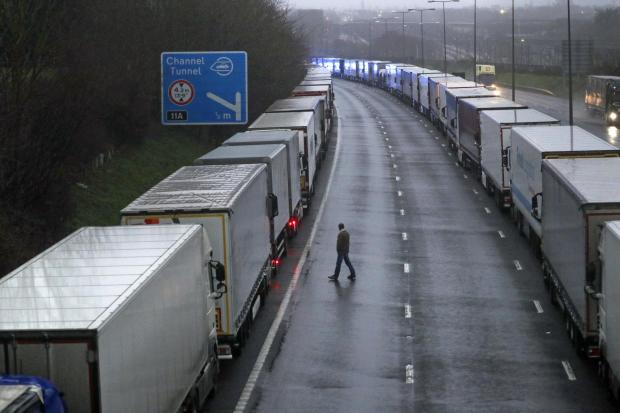 Brexit fallout affecting truck drivers and major ports