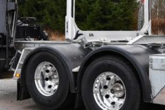 Dis-engageable tandem axle launched by Scania