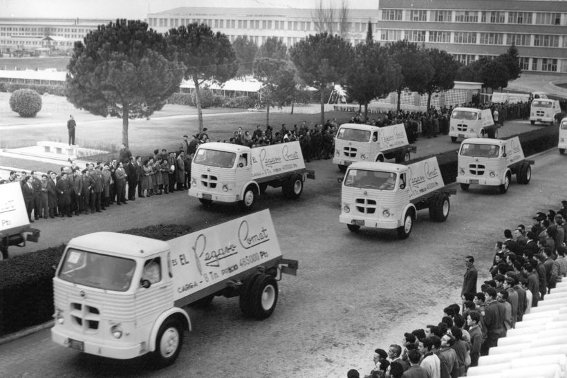 Iveco celebrates 75 years of the Pegaso brand