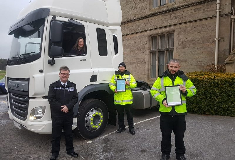 Warwickshire Police wins national award thanks to 'supercab'