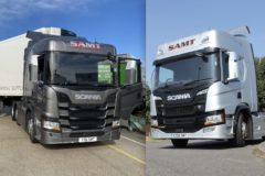 On test: Scania P & G working trucks