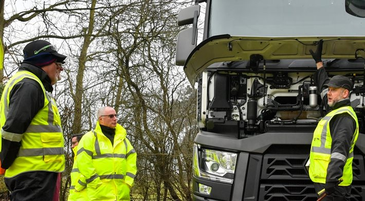 Logistics UK's Vehicle Inspection Service training gets a boost