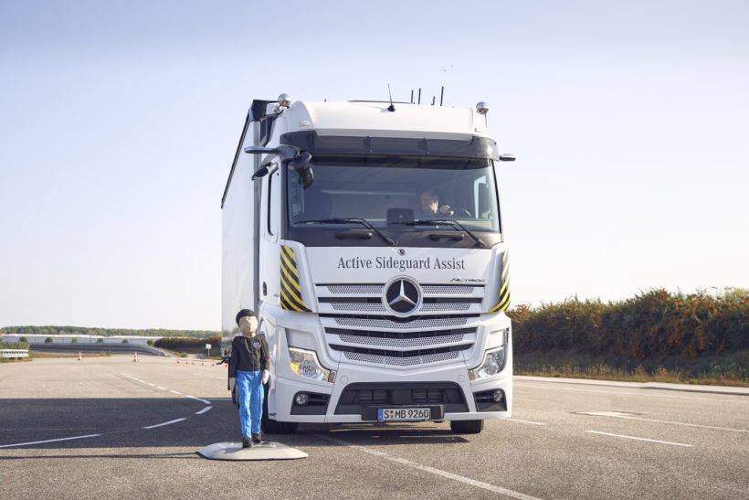 Advanced safety technologies available from Mercedes-Benz
