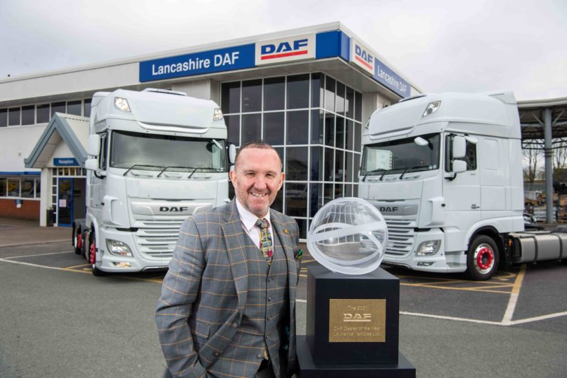 UK DAF dealers win international praise