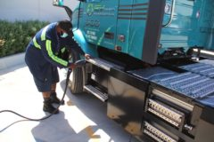 Largest electric vehicle order for Volvo Trucks from QCD