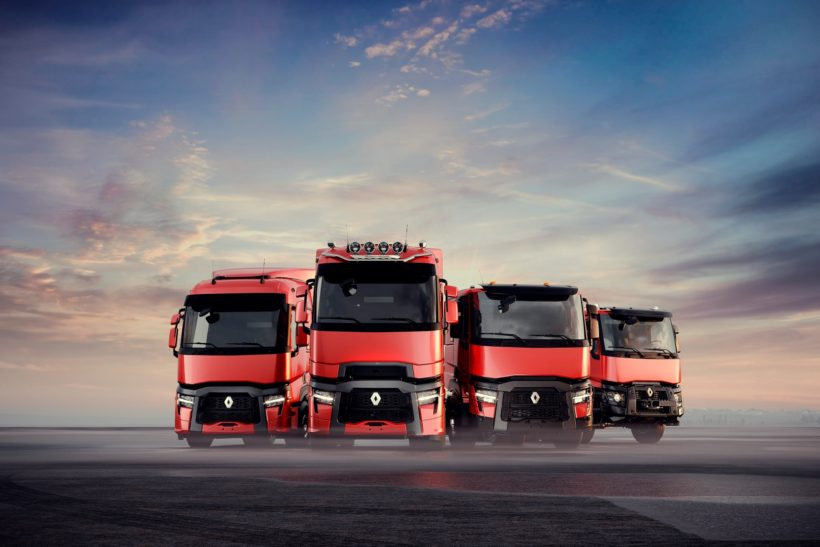 Truck upgrades for four Renault Trucks models