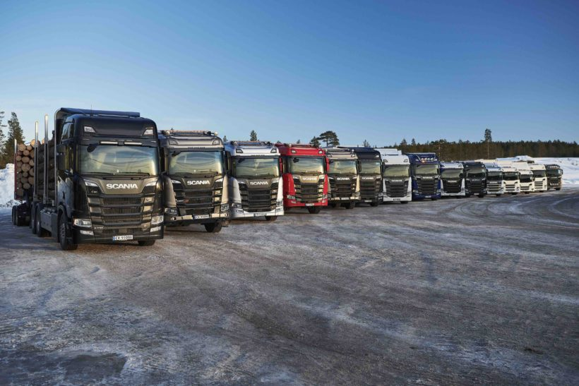 ROAD TEST: SCANIA WINTER DRIVING