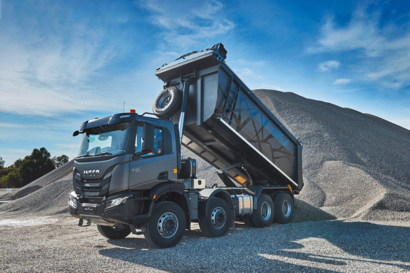 That's T-Way to do it: Iveco's new off-road truck breaks cover