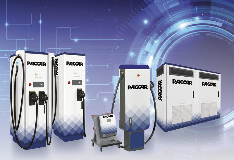 Charging stations from PACCAR announced by DAF Trucks