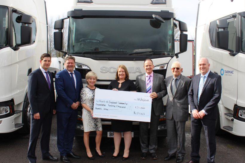 Keltruck's charity donations redoubled after pandemic