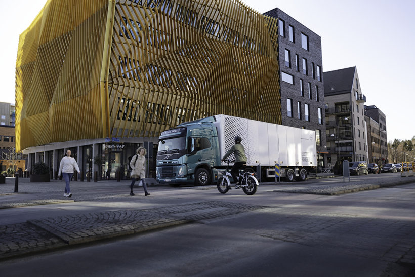 New safety system for Volvo Trucks is a sound idea