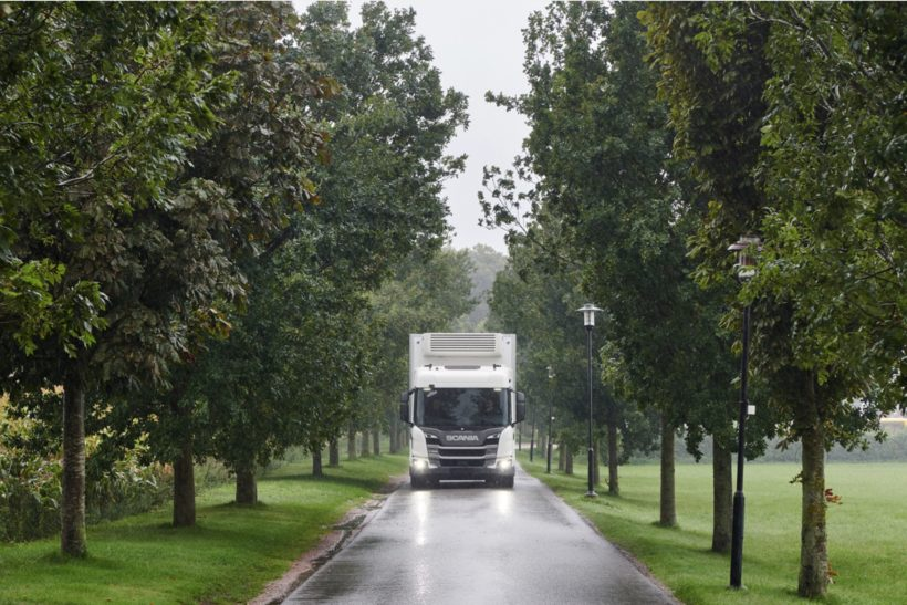 Emissions reductions from Scania recognised by EU
