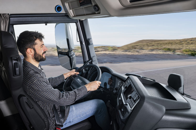 Iveco's new S-Way hoping to connect with drivers