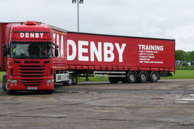 B-double semi-trailer trial follow-up from Denby