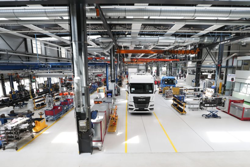 MAN's e-mobility centre in Munich opens its doors