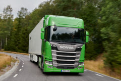 Scania's Green Truck glory for fifth consecutive year