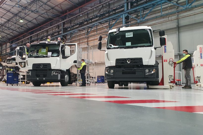 Adaptions of Renault trucks now available at French factory