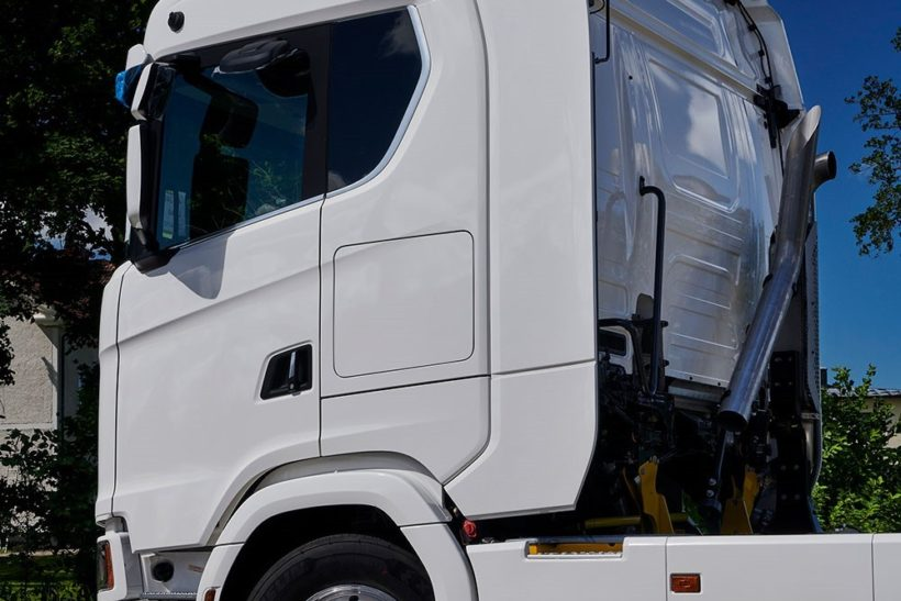Bigger cabs leads to better comfort for Scania drivers