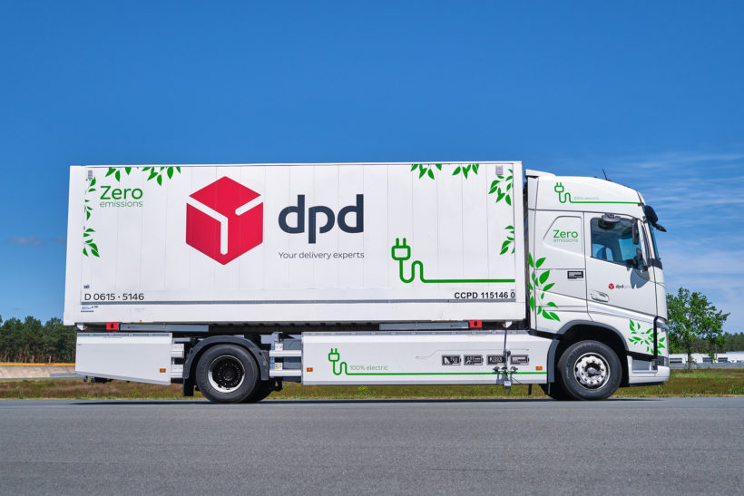 Prototype tyres for electric trucks put through their paces