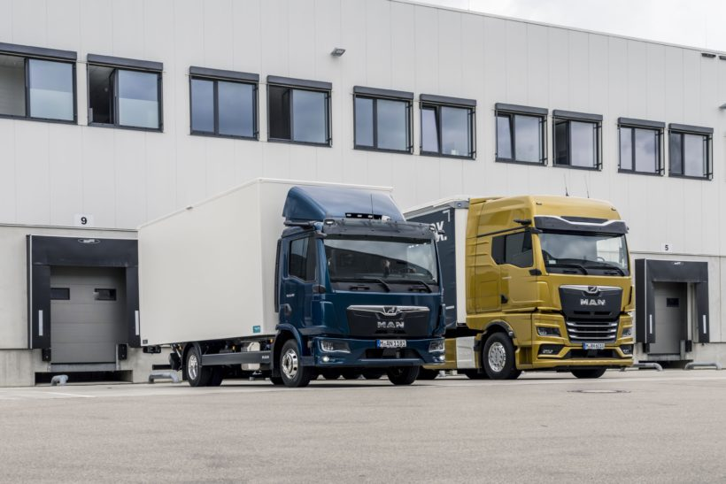 MAN's new truck generation gets an early makeover