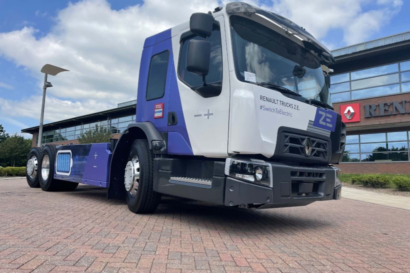 Electric avenues: Renault unveils new urban truck