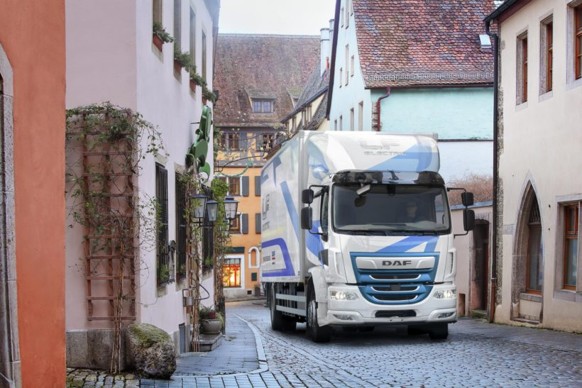 Leyland Trucks selected for UK electric truck trial