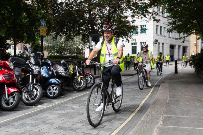 Two-wheeled truckers: FORS resumes cycle safety training
