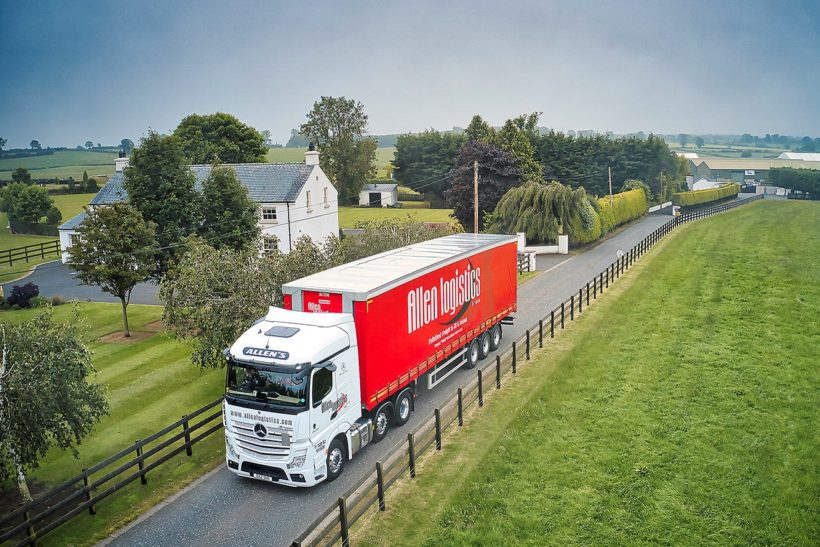 Moving on up: logistics company invests in Mercedes-Benz trio