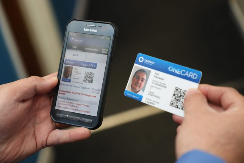 Smart card milestone proves truck driver safety commitment