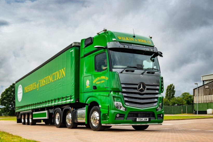 First Actros Edition 2 winds up at Wilkin & Sons